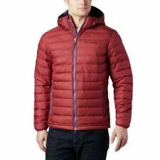COLUMBIA Powder Lite Hooded Red Jasper L