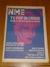 NME 1987 MARCH 7 PAULA YATES JOOLS HOLLAND ANDY KERSHAW FINE YOUNG CANNIBALS