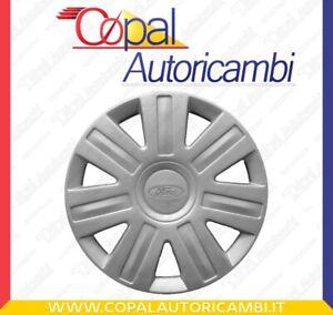 """FORD FIESTA COPRICERCHIO BORCHIA UNO (1) coppa ruota diametro 14"""" dal 2002 NUOVO"""