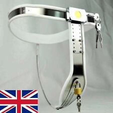 Female Chastity Belt Adjustable Curve-T Stainless Steel white, Sports 65 - 90cm