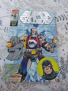 Super Soldiers #1 (Marvel Comics)