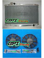 ALLOY RADIATOR TOYOTA SUPRA MK4 JZA80 2JZ-GTE BI-TURBO RZ MT 1993-1998+2XFAN