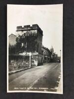 Vintage Postcard: #TP153: Watch Tower Town Wall, Shrewsbury: Real Photo
