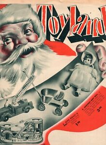 Vintage Liming Dept Store, Virginia Christmas Toy Flyer
