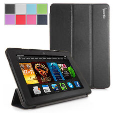 Poetic Amazon Kindle Fire HDX 7 Inch (2013 & 2014) -Slim Line Cover Case  Black