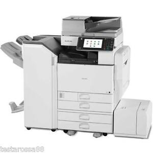 Ricoh MPC 4502 Colour Multifunction with Copy Scan Print with Staple finisher