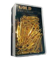 EK Success Gold Triangle Paper Clip, Box of Clips 70