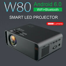 More details for new 18000 lumens smart led projector android wifi bluetooth home theater cinema