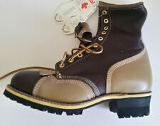 New Men's Gorilla #7781 Safety Boot with vibram soles 9-3E  --  MADE IN CANADA