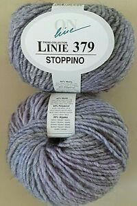 *SONDERPREIS 50g ONline Linie 379 STOPPINO Farbverlauf Wolle Alpaka 09 Viola