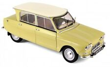 NOREV 1:18 AUTO DIE CAST CAR CITROEN AMI 6 1964 GIALLO NAPOLI YELLOW  ART 181535