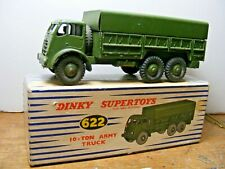 Dinky Toys #622 Foden 10 Ton Army Wagon With Box