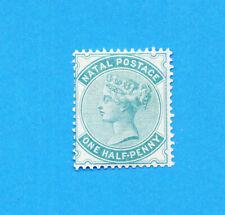 NATAL -   SG 96   -  unused hinged - 1/2 d   Watermark Crown CC  - 1880