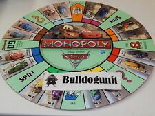 2011 Disney Pixar Cars 2 Monopoly Replacement Game Board Only