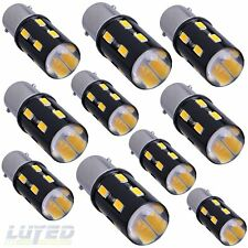 LUYED 10 x Super bright 1156 1141 1003 5630 18-EX Chipsets Led Bulb,Warm  White