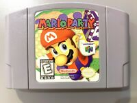 AUTHENTIC! Mario Party 1 ORIGINAL NINTENDO 64 N64 Game Tested WORKING!