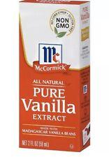 McCormick Pure Vanilla Extract All Natural - 2 Oz - EACH