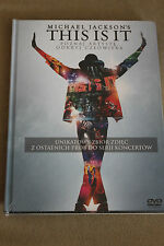 DVD MICHAEL JACKSON's - THIS IS IT / POLISH EDITION / digibook from Poland