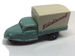 Wiking HO 1/87 Goliath Goli Tricycle Delivery Van