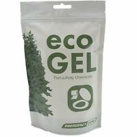 Eco Gel Port-A-Potty and Emergency Toilet Chemicals, Eco-Friendly Liquid Waste