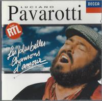CD LUCIANO PAVAROTTI LES PLUS BELLE CHANSONS D'AMOUR   3092