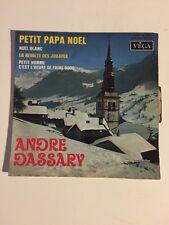 Ref1141 Vinyle 45 Tours Andre Dassary Petit Papa Noel