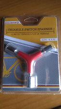 Clé verre mtb 8-9-10 Vélo Vélo etoile triangulaire