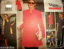 Miss/MP Vogue 1927 Maternity Pattern Jacket Dress Tunic Jumper UNCUT Sz 18-20-22