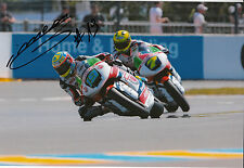 Xavier Simeon Hand Signed Federal Oil Gresini Suter 12x8 Photo 2014 Moto2 10.