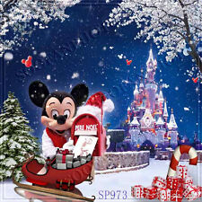 Christmas 10'x10' Computer-painted Scenic Photo Background Backdrop SP973B881