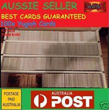 YuGiOh! 100x Bulk Cards Pack [10 HOLOS & RARES] CHEAP GENUINE KONAMI AUST