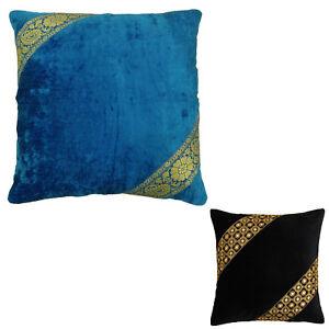 Velvet Home Decor Designer Pillow Sham Cushion Cover Case - Choose Size
