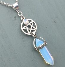 Moonstone Silver Plated Costume Pendants