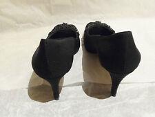 Banana Republic Black Elegant Cloth Heels Pumps, Size 6.5 Original Owner