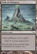 Vault of Whispers SP Mirrodin MTG Magic The Gathering Land English Card