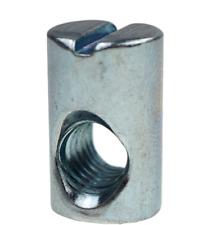 Barrel Nuts M6 X 10 X 13 MM Asymmetric For Furniture Bolt Various Packs