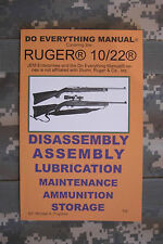 Ruger 10/22 Do Everything Gun Manual Book Guide