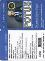 POTUS President of the United States Donald Trump fake id card Drivers License