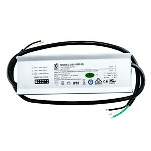 LED DRIVER 100W POWER SUPPLY 100-277V INPUT CONSTANT CURRENT OUTPUT 28-36V/3A