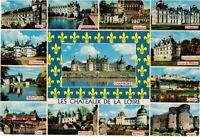 1980s France Postcard - Chateaux of the Loire Valley / Les Chateaux de la Loire