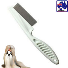Pet Dog Cat Toothed Comb Trimmer Removal Cleaning Flea Grooming PBRUS 0401