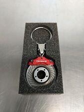 OEM Genuine Porsche Red Brake Disc Key Ring WAP0503020E
