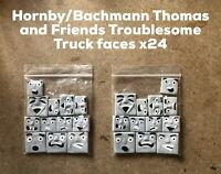 HORNBY/BACHMANN THOMAS AND FRIENDS CUSTOM TROUBLESOME TRUCK FACES X24 READ LOOK