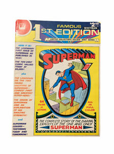 Superman DC 1979 Famous 1st Edition Limited Collector's Golden Mint Series C-61