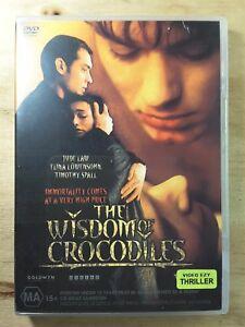 Wisdom of Crocodiles DVD Jude Law - Thriller Mystery - Rare Ex Rental