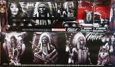 NEW RAY KENWORTH W900 SEMI TRUCK WITH CONTAINER DGA NATIVE 1/32 SS-11423
