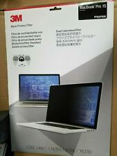 """NEW 3M Privacy Filter for 15"""" Apple MacBook Pro (PFNAP008)"""