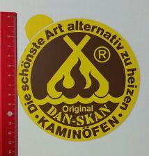 Aufkleber/Sticker: Original DAN-SKAN Kaminöfen (23021763)