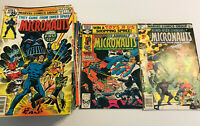 The Micronauts #1-59 Annual #1-2 Complete Set (Jan 1979, Marvel) Vintage Comics