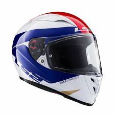 LS2 FF323 ARROW R COMET RED WHITE BLUE TRI-COMPOSITE HELMET, SIZE SMALL RRP £229